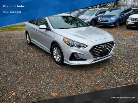 2018 Hyundai Sonata for sale at US-Euro Auto in Burton OH