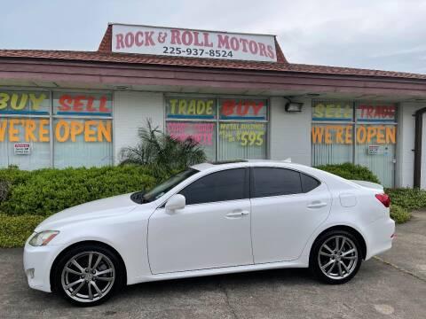 2008 Lexus IS 250 for sale at Rock & Roll Motors in Baton Rouge LA