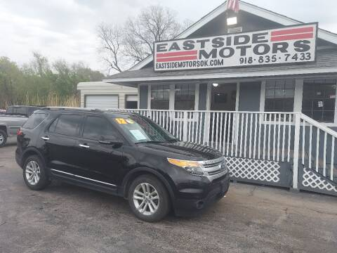 2012 Ford Explorer for sale at EASTSIDE MOTORS in Tulsa OK