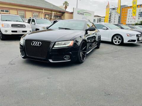 2012 Audi S5 for sale at Ronnie Motors LLC in San Jose CA