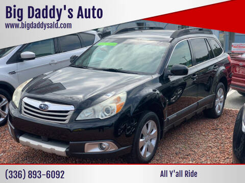2011 Subaru Outback for sale at Big Daddy's Auto in Winston-Salem NC