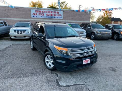 2014 Ford Explorer for sale at Brothers Auto Group in Youngstown OH