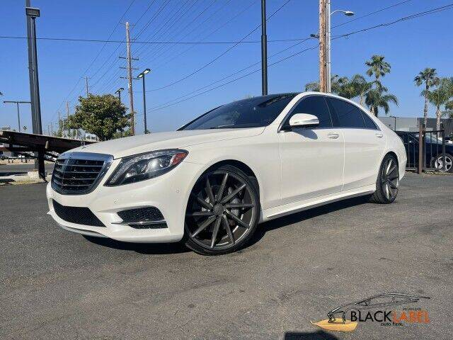 2015 Mercedes-Benz S-Class for sale at BLACK LABEL AUTO FIRM in Riverside CA