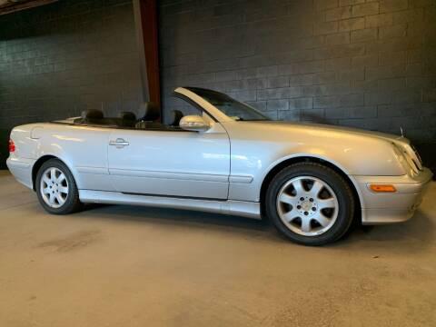 2001 Mercedes-Benz CLK for sale at American Classic Car Sales in Sarasota FL