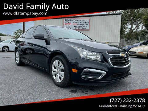 2016 Chevrolet Cruze Limited for sale at David Family Auto in New Port Richey FL