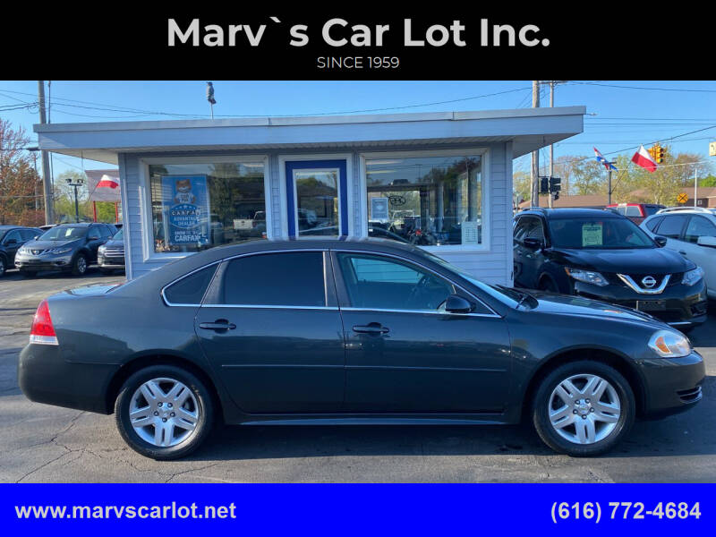 2014 Chevrolet Impala Limited for sale at Marv`s Car Lot Inc. in Zeeland MI