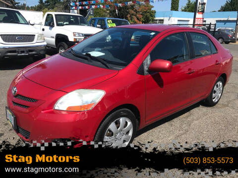 2007 Toyota Yaris for sale at Stag Motors in Portland OR