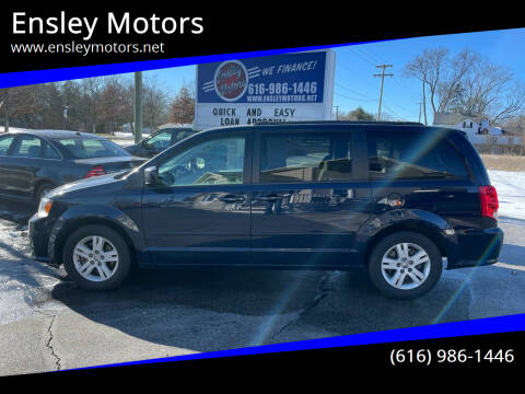 2015 Dodge Grand Caravan for sale at Ensley Motors in Allendale MI