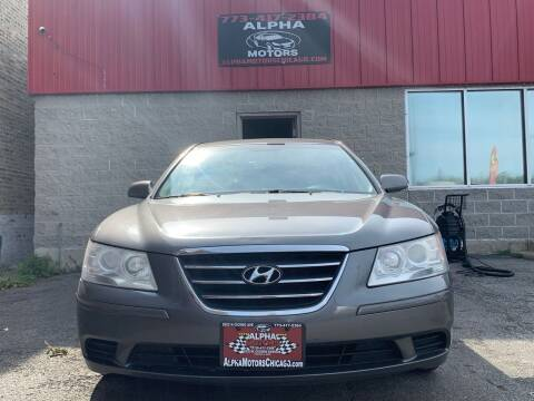 2010 Hyundai Sonata for sale at Alpha Motors in Chicago IL