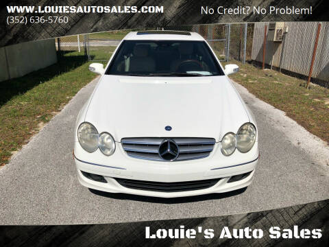 2007 Mercedes-Benz CLK for sale at Louie's Auto Sales in Leesburg FL