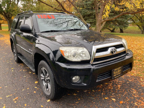 2007 Toyota 4Runner for sale at BELOW BOOK AUTO SALES in Idaho Falls ID