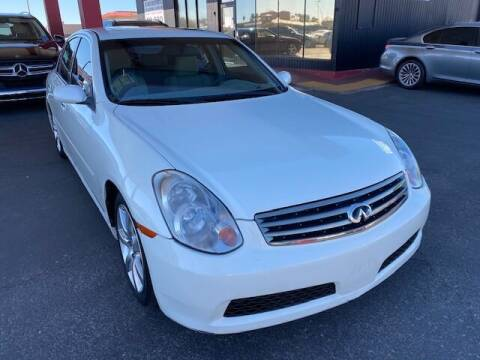 2006 Infiniti G35 for sale at JQ Motorsports East in Tucson AZ