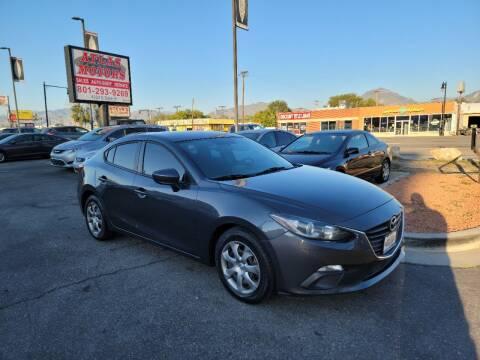 2015 Mazda MAZDA3 for sale at ATLAS MOTORS INC in Salt Lake City UT