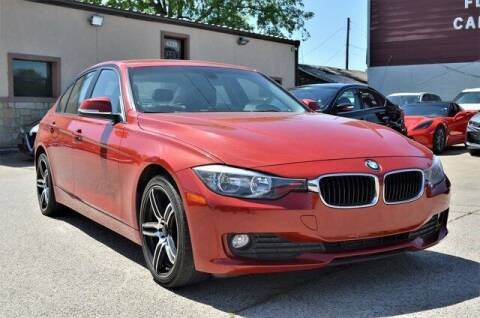 2015 BMW 3 Series for sale at LAKESIDE MOTORS, INC. in Sachse TX
