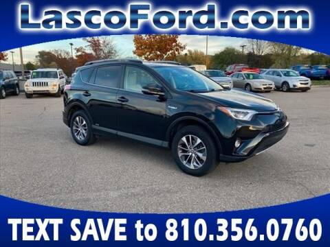 2017 Toyota RAV4 Hybrid for sale at Lasco of Grand Blanc in Grand Blanc MI