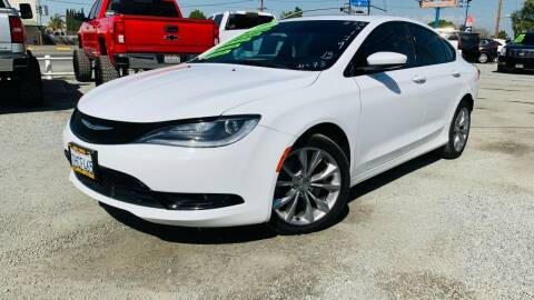 2015 Chrysler 200 for sale at La Playita Auto Sales Tulare in Tulare CA