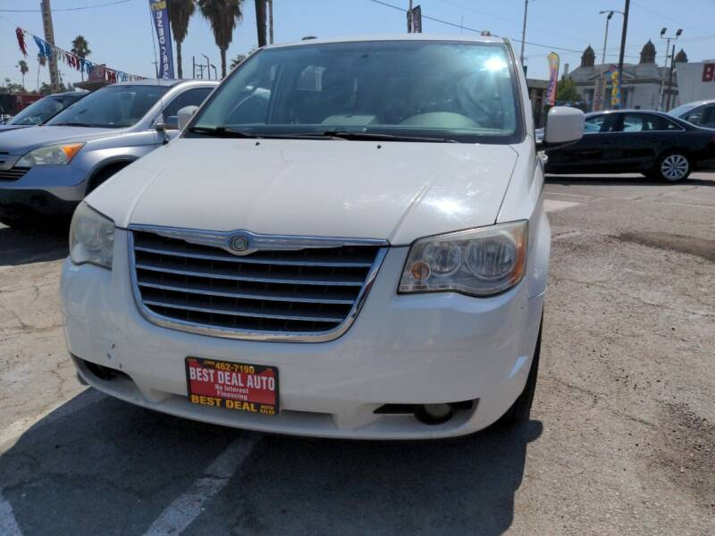 2010 Chrysler Town and Country for sale at Best Deal Auto Sales in Stockton CA