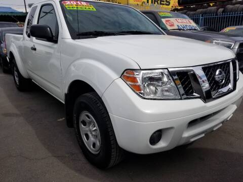 2018 Nissan Frontier for sale at Ournextcar/Ramirez Auto Sales in Downey CA