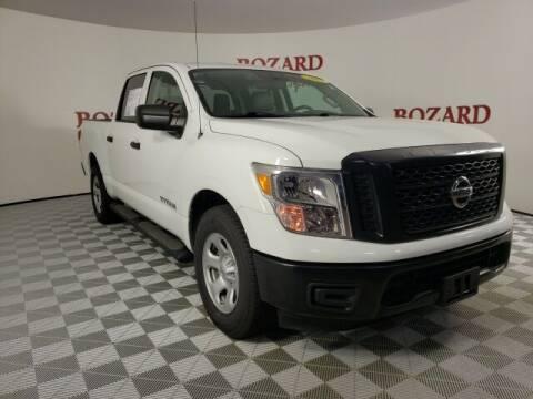 2017 Nissan Titan for sale at BOZARD FORD in Saint Augustine FL