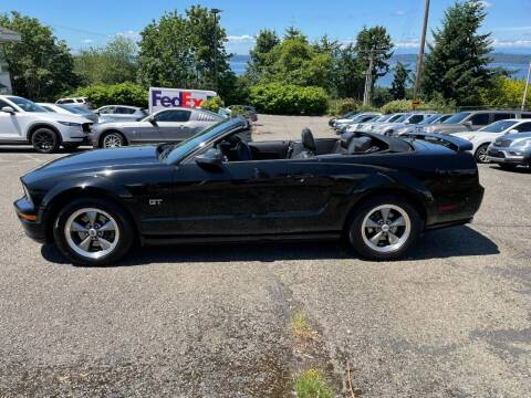 2005 Ford Mustang for sale at KARMA AUTO SALES in Federal Way WA
