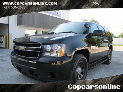 2013 Chevrolet Tahoe for sale at Copcarsonline in Largo FL