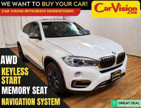 2016 BMW X6 for sale at Car Vision Mitsubishi Norristown in Trooper PA