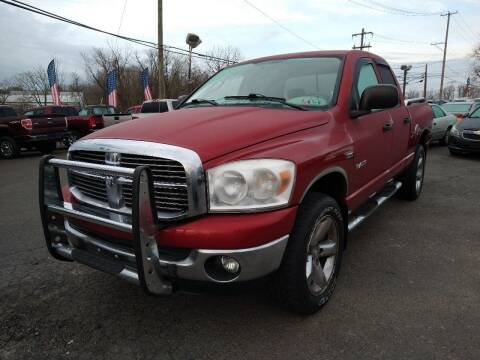 2008 Dodge Ram Pickup 1500 for sale at P J McCafferty Inc in Langhorne PA