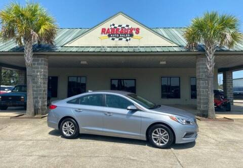 2017 Hyundai Sonata for sale at Rabeaux's Auto Sales in Lafayette LA