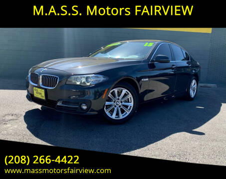 2016 BMW 5 Series for sale at M.A.S.S. Motors - Fairview in Boise ID