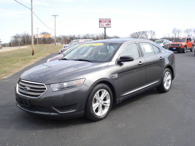 2016 Ford Taurus for sale at Fox River Auto Sales in Princeton WI
