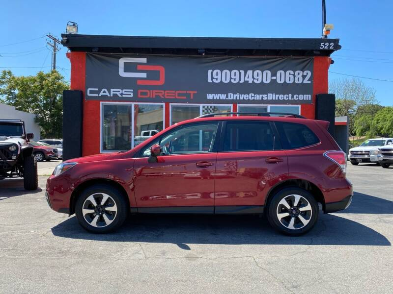 2018 Subaru Forester for sale at Cars Direct in Ontario CA