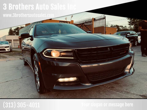 2016 Dodge Charger for sale at 3 Brothers Auto Sales Inc in Detroit MI