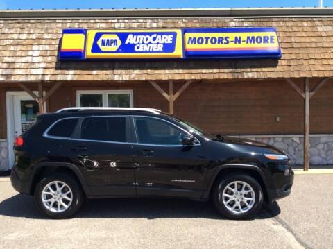 2017 Jeep Cherokee for sale at MOTORS N MORE in Brainerd MN