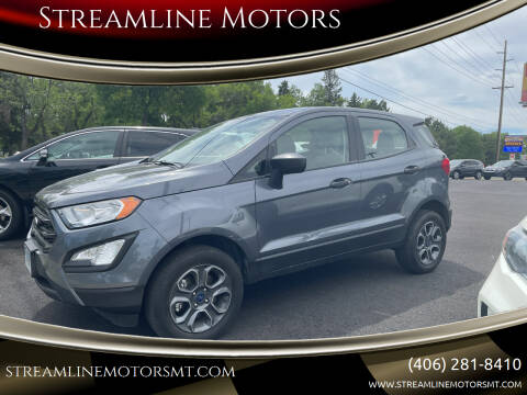 2019 Ford EcoSport for sale at Streamline Motors in Billings MT