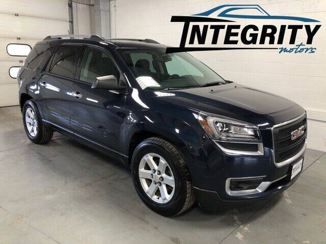 2015 GMC Acadia for sale at Integrity Motors, Inc. in Fond Du Lac WI