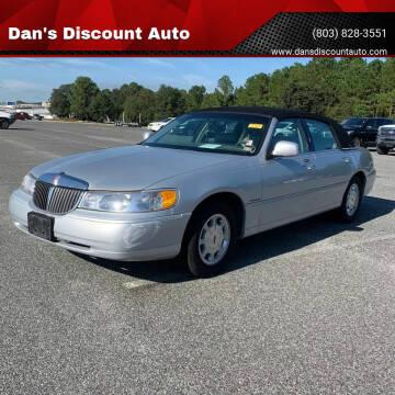 2000 Lincoln Town Car for sale at Dan's Discount Auto in Gaston SC