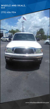 2004 Toyota Tacoma for sale at WHEELZ AND DEALZ, LLC in Fort Pierce FL