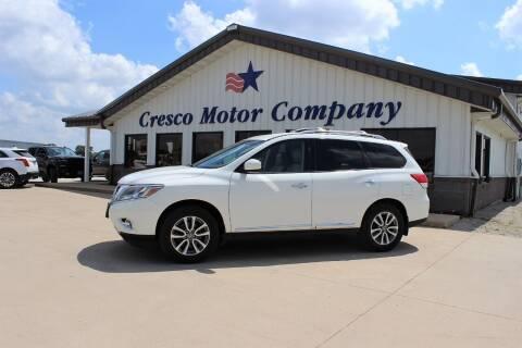2014 Nissan Pathfinder for sale at Cresco Motor Company in Cresco IA