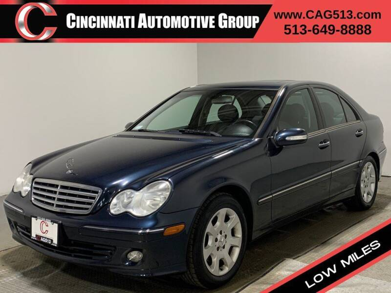 2005 Mercedes-Benz C-Class for sale at Cincinnati Automotive Group in Lebanon OH