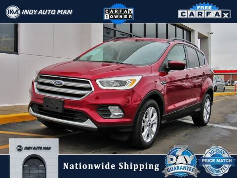 2017 Ford Escape for sale at INDY AUTO MAN in Indianapolis IN