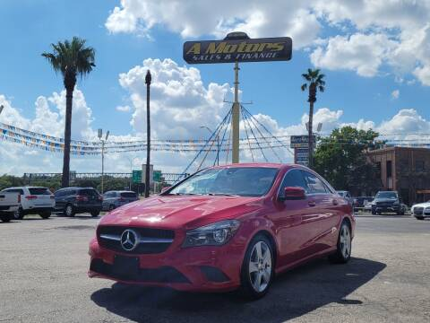 2015 Mercedes-Benz CLA for sale at A MOTORS SALES AND FINANCE in San Antonio TX