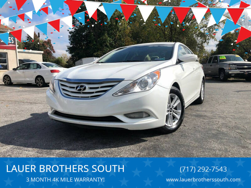2013 Hyundai Sonata for sale at LAUER BROTHERS SOUTH in York PA