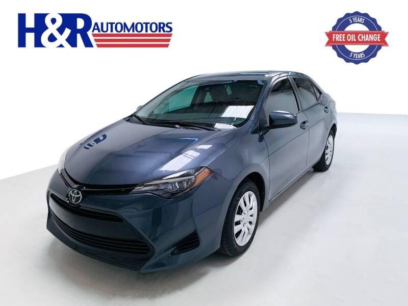 2018 Toyota Corolla for sale at H&R Auto Motors in San Antonio TX
