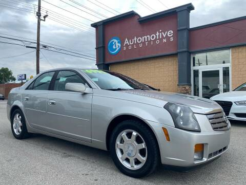 2003 Cadillac CTS for sale at Automotive Solutions in Louisville KY