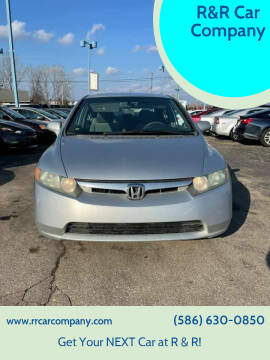 2007 Honda Civic for sale at R&R Car Company in Mount Clemens MI