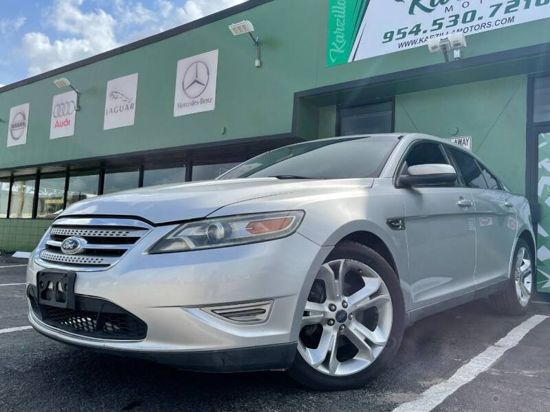 2011 Ford Taurus for sale at KARZILLA MOTORS in Oakland Park FL