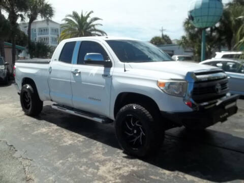 2014 Toyota Tundra for sale at PJ's Auto World Inc in Clearwater FL