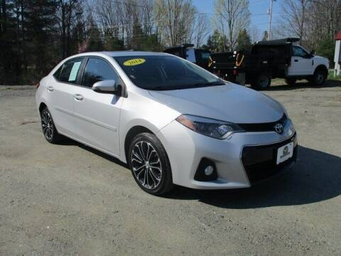 2014 Toyota Corolla for sale at MC FARLAND FORD in Exeter NH