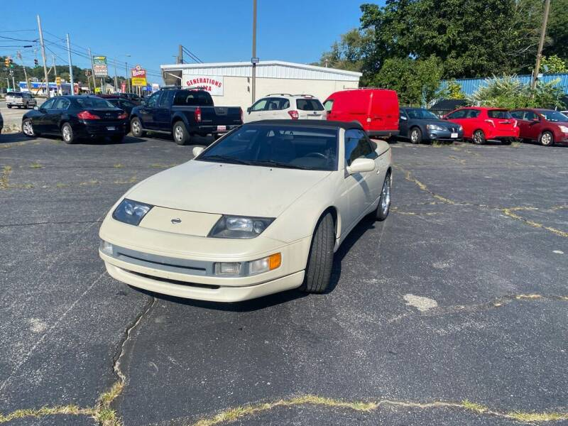1993 Nissan 300ZX for sale at M & J Auto Sales in Attleboro MA