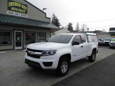 2017 Chevrolet Colorado for sale at Emerald City Auto Inc in Seattle WA